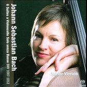 Bach: Suites (6) for solo cello, BWV 1007-1012 / Quirine Viersen, cello
