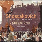 Shostakovich: Piano Concertos Nos. 1 & 2; Three Fantastic Dances Op. 5 / Cristina Ortiz, piano