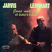 Jane Jarvis: Janen Jarvis & Jay Leonhart at Duke's Place