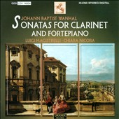 Jean Baptiste Wahnal: Sonatas for Clarinet and Fortepiano