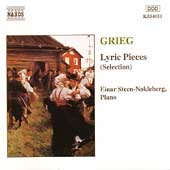 Grieg: Lyric Pieces (Selection) / Einar Steen-Nökleberg