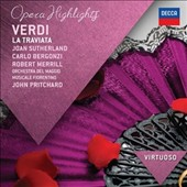 Verdi: La Traviata (highlights) / Sutherland, Bergonzi, Merrill