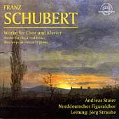 Schubert: Works for Choir and Piano / Straube, Staier, et al