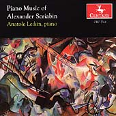 Piano Music of Alexander Scriabin / Anatole Leikin