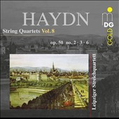 Haydn: String Quartets, Op. 50, No. 2, 3, 6 / Leipzig String Quartet