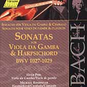 Edition Bachakademie Vol 124 - Sonatas for Viola da Gamba