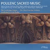 Poulenc: Sacred Music / Rutter, Cambridge Singers, et al
