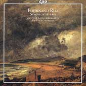 Ries: Symphonies no 4 & 6 / Griffiths, Zürcher CO