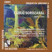 Basque Music Collection Vol VI - Sorozábal / Arruabarrena