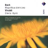 Bach: Magnificat;  Vivaldi: Gloria, Kyrie / Corboz, et al