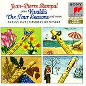 Vivaldi: The Four Seasons, etc / Rampal, Franz Liszt CO
