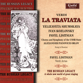 Verdi: La traviata, etc / Orlov, Shumskaya, Lisitsian, et al