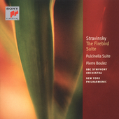 Stravinsky: The Firebird & Pulcinella Suite / Boulez