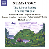 Stravinsky: The Rite of Spring, The Nightingale / Craft