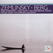 Zemlinsky: Lyric Symphony;  Berg / Gielen, Johnson, et al