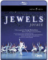 George Balanchine: Jewels - Faurel; Stravinsky; Tchaikovsky [Blu-Ray]