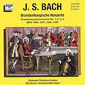 Bach: Brandenburgische Konzerte