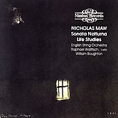 Maw: Sonata Notturna, Life Studies / Boughton, Wallfisch