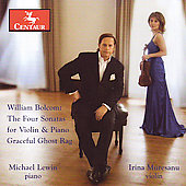 Bolcom: Sonatas for Violin & Piano / Lewin-Muresanu Duo