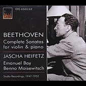 Beethoven: Complete Sonatas for Violin and Piano / Heifetz, Bay, Moiseiwitsch