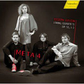 Haydn: String Quartets Op 55 no 1-3 / META 4 String Quartet