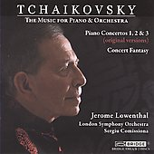 Tchaikovsky: Music for Piano & Orchestra / Lowenthal, Comissiona, London SO
