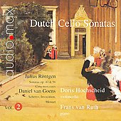 Dutch Cello Sonatas, Vol. 2 / Denis Hochscheid, Franz van Ruth