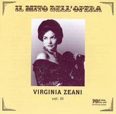 Virginia Zeani (soprano), Vol. 3 - arias by Bellini, Donizetti, Puccini, Verdi