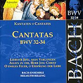 Bach: Cantatas, BWV 32-34