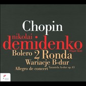 Chopin: 2 Rondos & Bolero