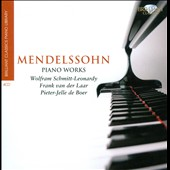 Brilliant Classics Piano Library: Mendelssohn