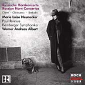 Russian Horn Concertos / Neunecker, Albert, Bamberg SO