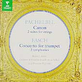 Pachelbel: Canon, etc;  Fasch / Paillard, Andr&eacute;