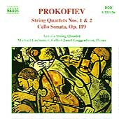 Prokofiev: String Quartets 1 & 2, etc / Aurora Quartet