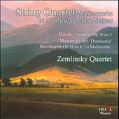 String Quartet Masterworks of the First Viennese School / Zemlinsky Quartet