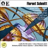 F. Schmitt: Music for Two Pianos / Leslie De'Ath, Anya Alexeyev