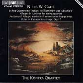 Gade: String Quartet in F, etc / Kontra Quartet