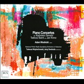 Kazimierz Serocki, Tadeusz Baird, Jan Krenz: Piano Concertos