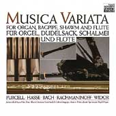 Music for Organ, Bagpipe, Shawm & Flute / Musica Variata