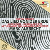 Gustav Mahler: Das Lied von der Erde / Alice Coote; Burkhard Fritz. Marc Albrecht