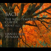 Bach: The Well-Tempered Clavier, Books 1 & 2 / Daniel-Ben Pienaar, piano [4 CDs]