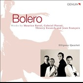 Bolero - works for saxophones by Ravel, Pierne, Escaich, Francaix / Ellipsos Saxophone Quartet