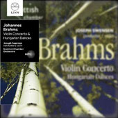 Brahms: Violin Concerto; Hungarian Dances / Scottish CO, Swensen