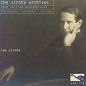 The Sirota Archives - Rare Russian Masterpieces for Piano