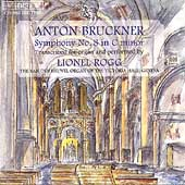 Bruckner: Symphony no 8 / Lionel Rogg