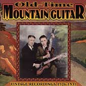 Various Artists: Old-Time Mountain Guitar