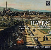 Haydn: The Complete String Quartets Played on Period Instruments / Festetics Quartet [19 CDs]