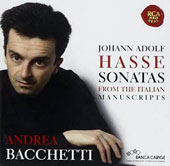 Johann Adolf Hasse: Sonatas from the Italian Manuscripts
