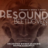 Resound - Beethoven, Vol. 4: Symphony 3 'Eroica'; Septet, Op. 20 / Orchester Wiener Akademie; Martin Haselbock