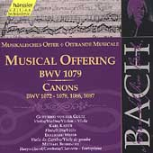 Edition Bachakademie Vol 133 -Musical Offering BWV 1079, etc